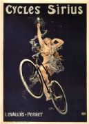 Vintage French bike advertisement poster - Levallois-Perret